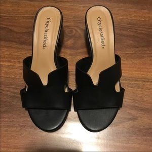 City Classified H Sandals
